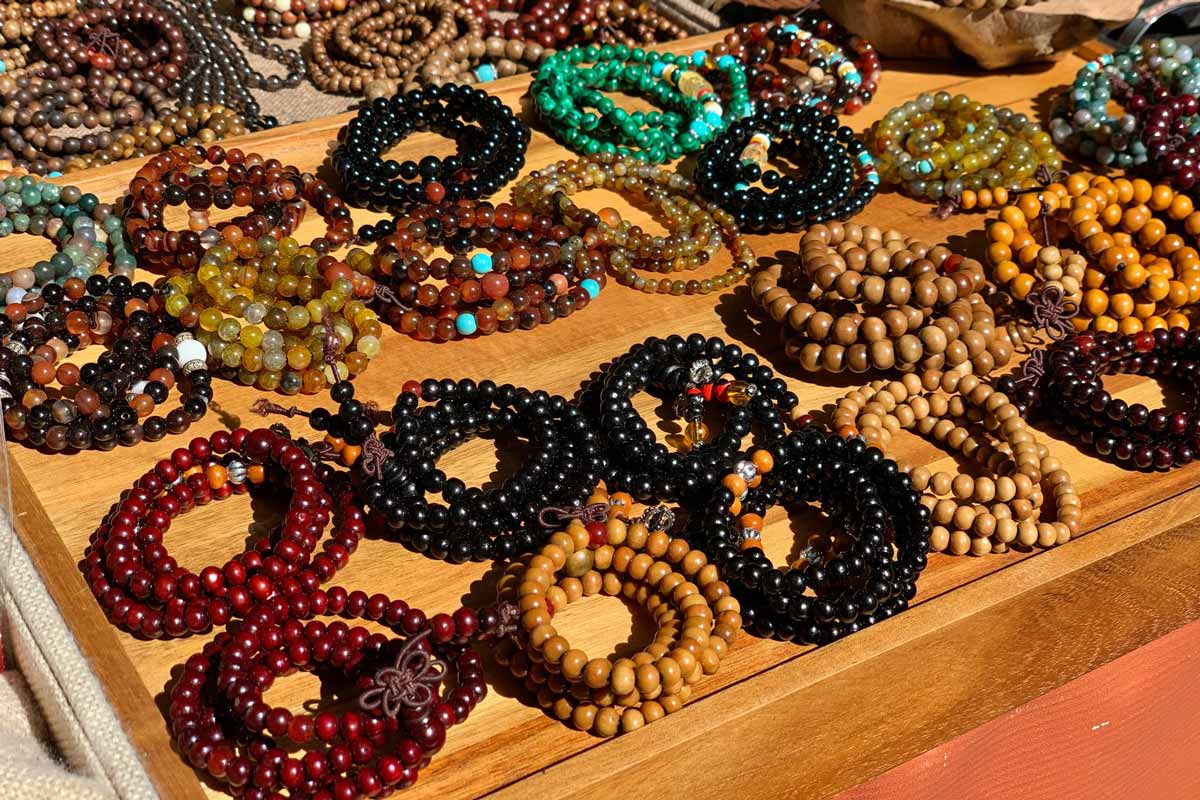 Types of Natural Wooden Beads for DIY Jewelry Sorted by Colors