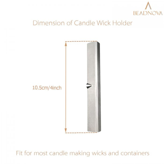 Metal-Candle-Wick-Holder-Bar-Centering-Device-For-Candle-Making