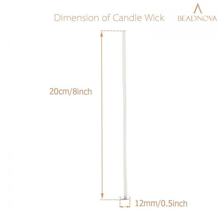 Candle-Wicks-8-Inch-Cotton-Wicks-150-Pcs