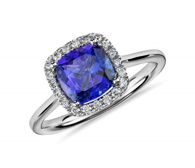 Blue Nile Tanzanite Ring