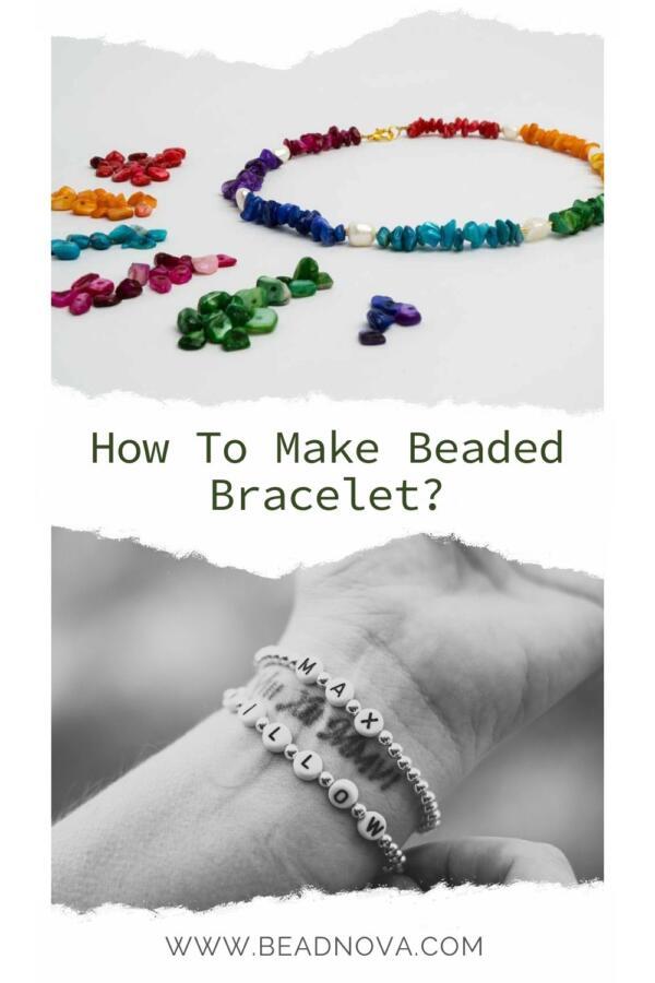 как сделать браслет из бисера